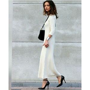 Zara knit dress black